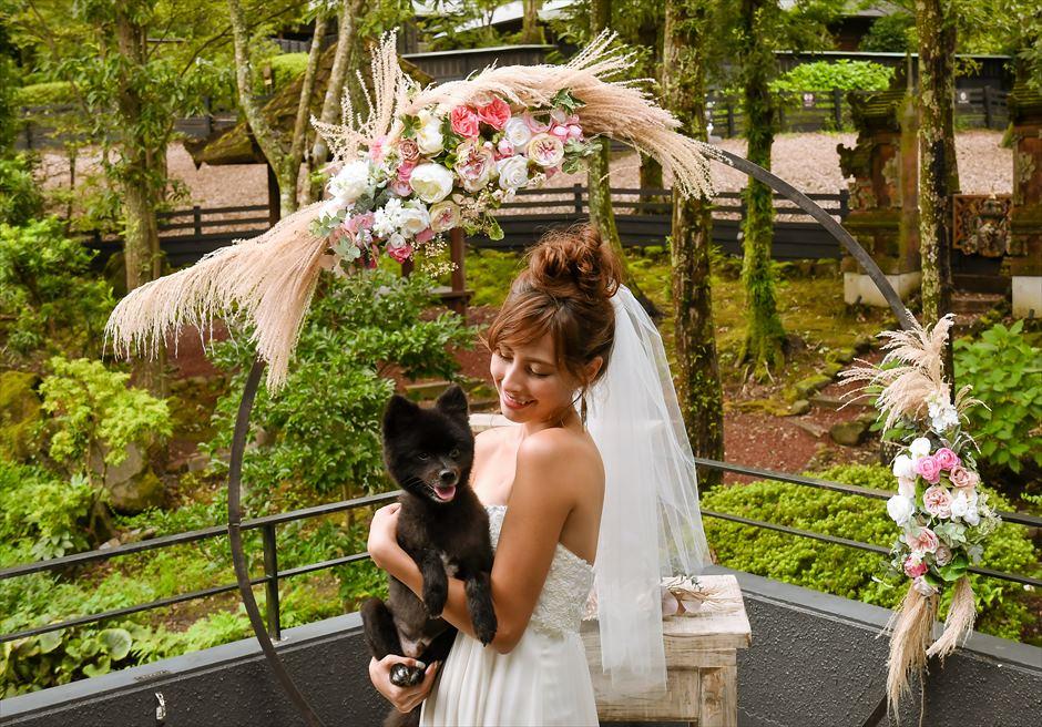静岡前撮り ペットと前撮り ウェディングフォト・アイデア