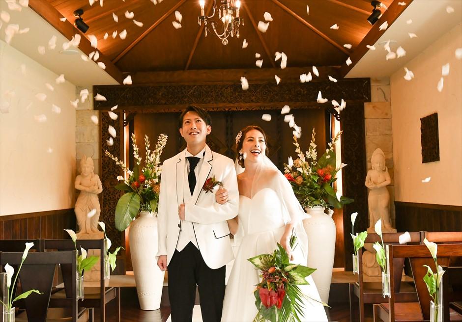 伊豆高原結婚式 静岡チャペル・ウェディング フラワーシャワー