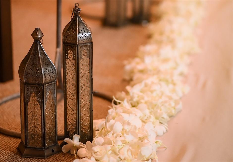 伊豆ウェディング・フォト 静岡結婚式会場 挙式会場装飾 アンダの森伊豆高原・別館