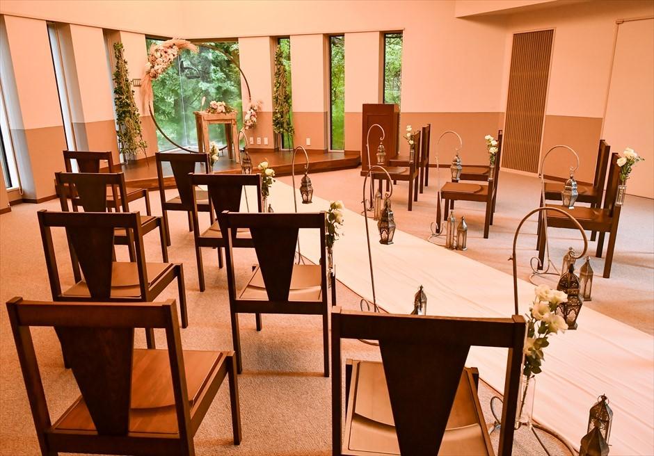 静岡邸宅ウェディング 伊豆プライベート挙式 アンダの森伊豆高原