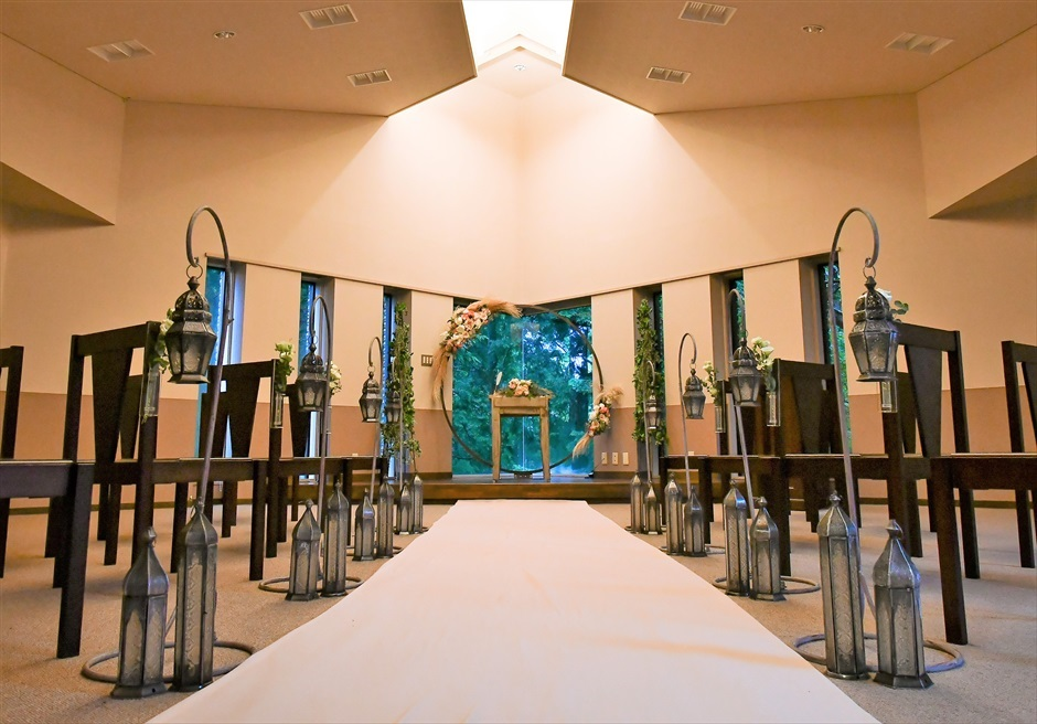 静岡邸宅ウェディング 静岡プライベート挙式 アンダの森別館・挙式会場