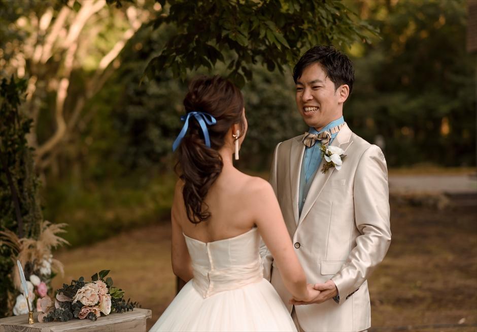 静岡ガーデン結婚式 伊豆アウトドアウェディング 挙式会場装飾