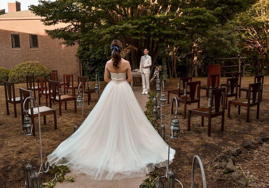 伊豆挙式 伊豆高原結婚式 会場装飾ナチュラル