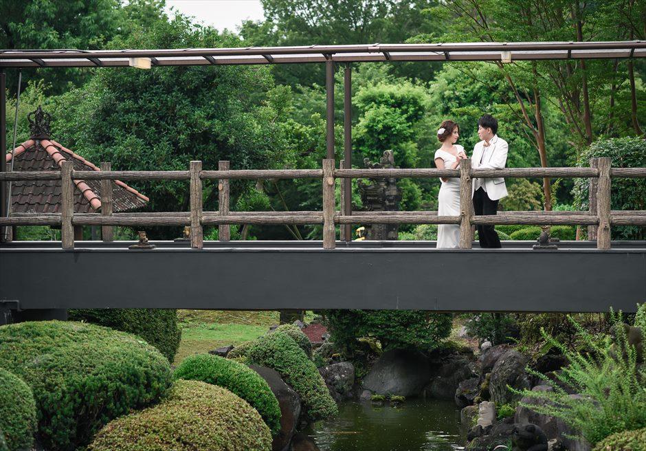 伊豆ウェディングフォト ホテル内前撮り アンダの森いっぺき湖