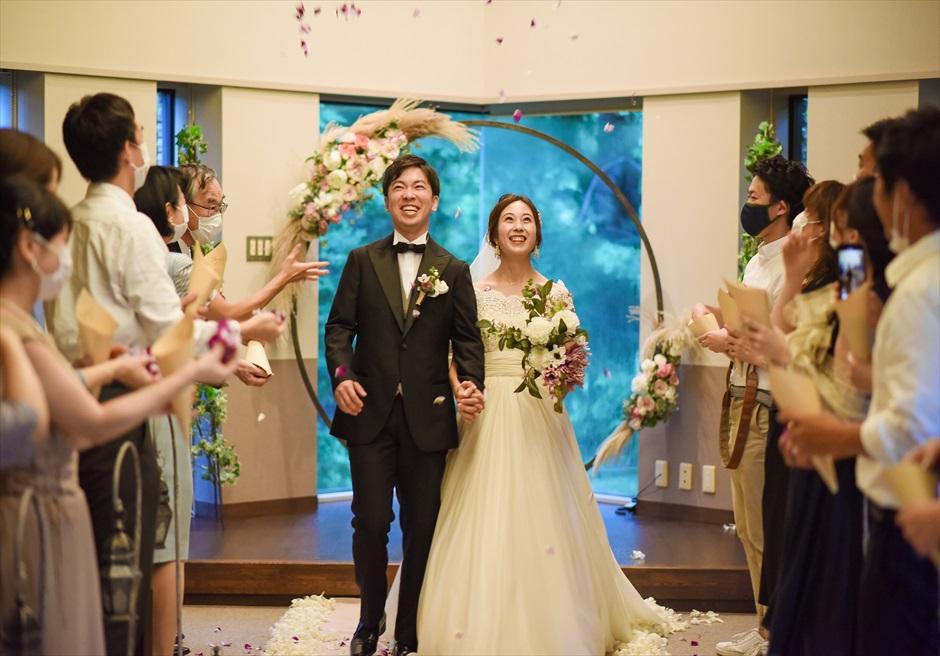 静岡結婚式 伊豆挙式フラワーシャワー 静岡結婚式