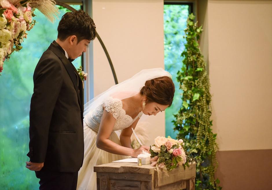 伊豆結婚式 静岡挙式会場装飾 アンダの森伊豆高原・別館