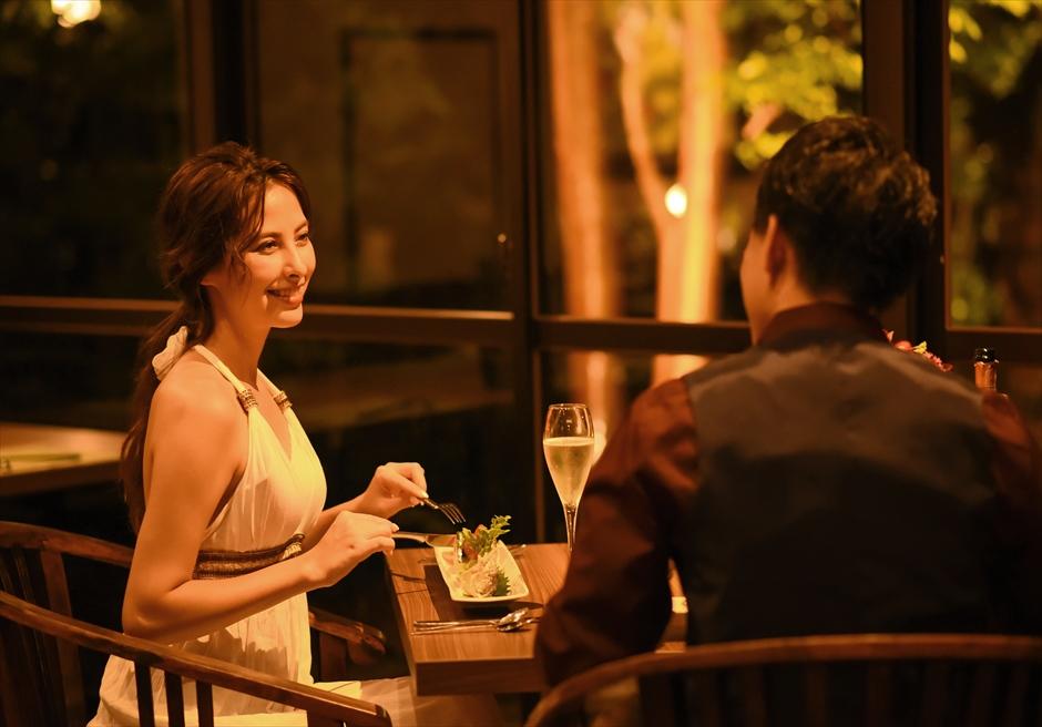 静岡レセプションパーティー 伊豆2人挙式 伊豆ロマンティックディナー