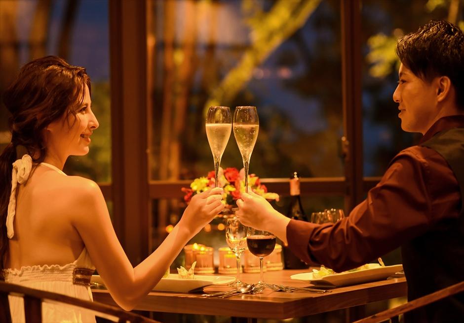 伊豆2人挙式 伊豆ウェディングパーティー ロマンティックディナー