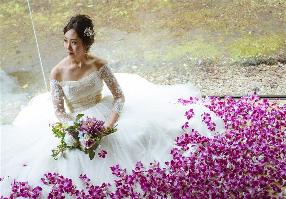 伊豆ウェディングフォト 静岡挙式前撮り ウェディングドレス