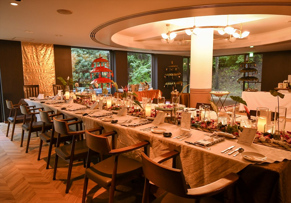 伊豆結婚式 伊豆レセプションパーティー アンダの森別館
