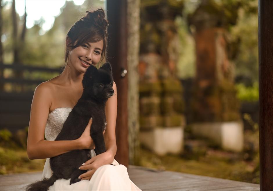 静岡フォトウェディング ペット撮影 愛犬と前撮り