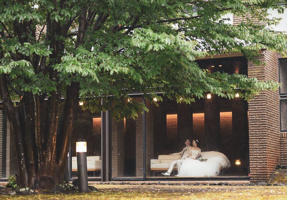 静岡ウェディング 伊豆挙式前撮り アンダの森別館