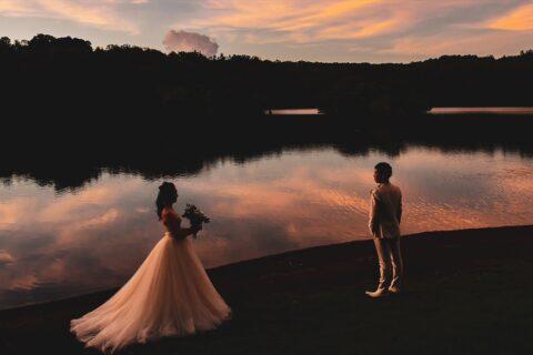 伊豆結婚式 伊豆前撮り サンセット撮影